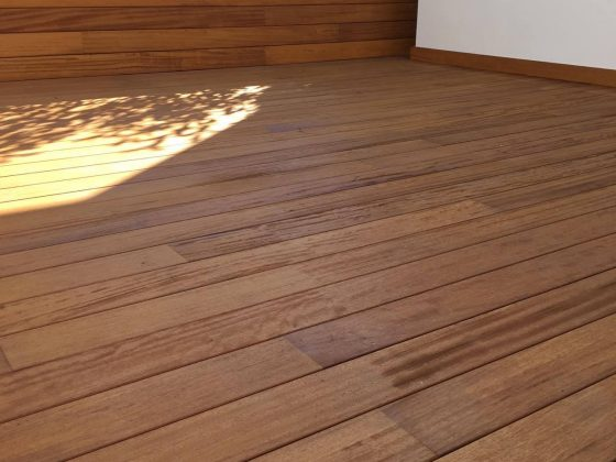 Deck Iroko